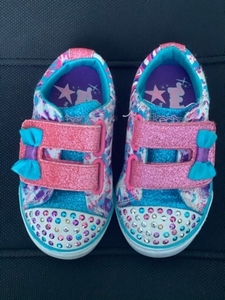 Used Skechers twinkle toes shoes size 20.5  in Dubai, UAE