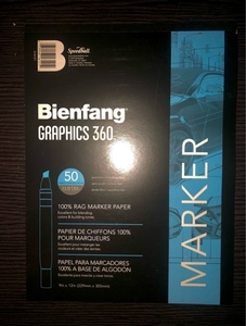 Used Bienfang Rag Marker Artbook for blending in Dubai, UAE