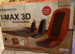 Used Isukoshi I-Max 3D massage Pad in Dubai, UAE