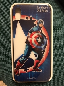 Used NEW! Captain America iPhone XS Max Cover in Dubai, UAE