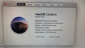Used MacBook Pro i7 15inch  in Dubai, UAE