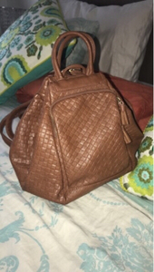 Used Leather bag, can be used in two ways  in Dubai, UAE