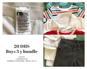 Used boys clothes bundle 20 dhs only in Dubai, UAE