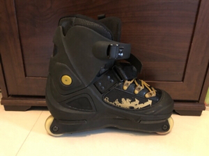 Used Oxelo inline skates size 8 UK/42EU in Dubai, UAE