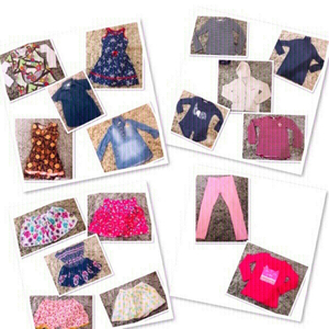 Used 17 PCs clothes for Girls 2-4 yr old ♥️ in Dubai, UAE