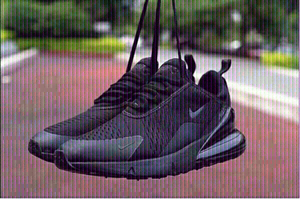Used Nike AirMax 270,size 43, black , new in Dubai, UAE