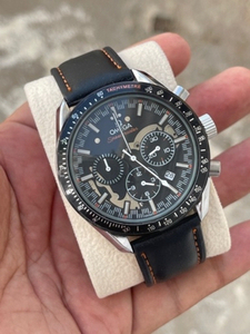 Used Omega strap chronograph  in Dubai, UAE