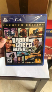 Used Ps4 gta5 (Brand New) in Dubai, UAE