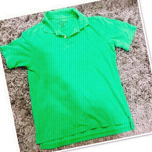 Used Faded Glory Green Polo /Medium ♥️ in Dubai, UAE