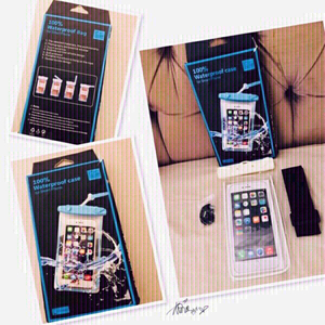 Used 💯 Waterproof Case for Smart Phone 💙  in Dubai, UAE
