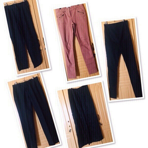 Used 5 pcs mixed brand Pants/ Medium ♥️  in Dubai, UAE