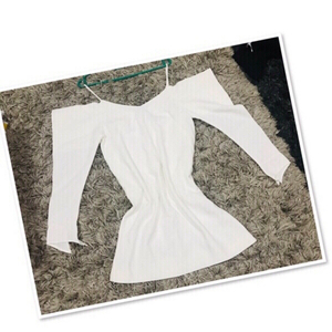 Used Caara Off Shoulder white dress / Small♥️ in Dubai, UAE