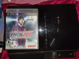 Used Ps3 fat with 3 joy controller and 1 game in Dubai, UAE