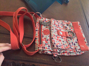 Used Kipling crossbody bag orange  in Dubai, UAE
