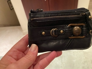 Used Small wallet form juicy couture. Leather in Dubai, UAE