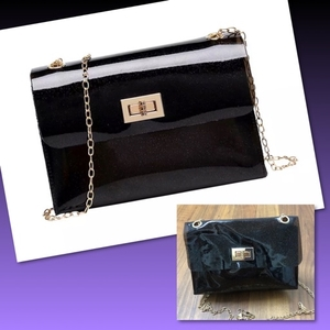 Used MINI BLACK JELLY BAG  in Dubai, UAE