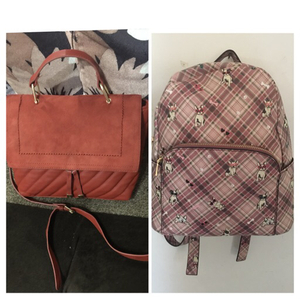 Used Parfois back pack and new look sling bag in Dubai, UAE