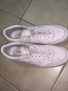 Used Men's pink converses size 45 in Dubai, UAE