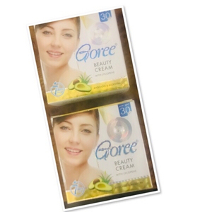 Used 2 PCs Goree whitening Cream ♥️  in Dubai, UAE