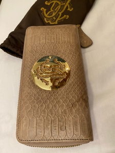 Used Roberto Cavalli wallet with dust bag  in Dubai, UAE