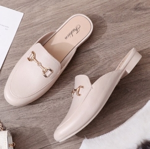 Used Slip over flat shoes PINk in Dubai, UAE