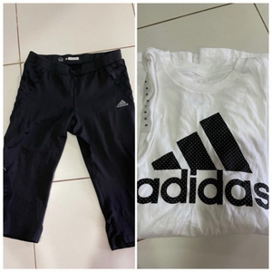 Used Adidas combo S/M in Dubai, UAE