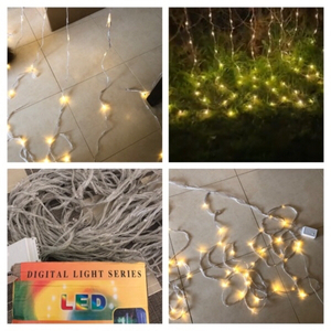 Used Fairy String Lights Warm White 3 meter in Dubai, UAE