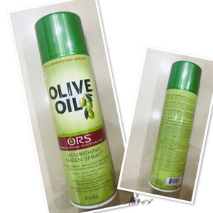 Used Olive Oil Shine Hair Spray 472ml 💙 in Dubai, UAE