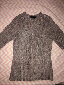 Used Preloved Top with Zipper in Dubai, UAE