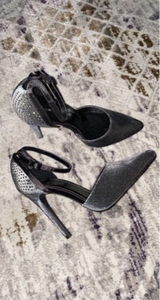 Used New Look Gray heels 36EU in Dubai, UAE