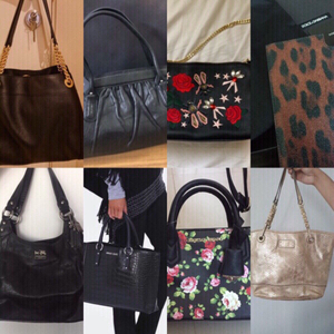 Used URGENT selling 8 bags authentic bundle in Dubai, UAE