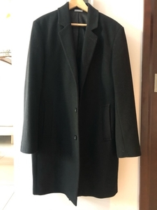 Used Michael Kors Wool Black Jacket-Coat M-L in Dubai, UAE