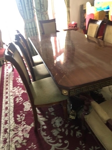 Used   Dining table صفرة اكل للبيت  in Dubai, UAE