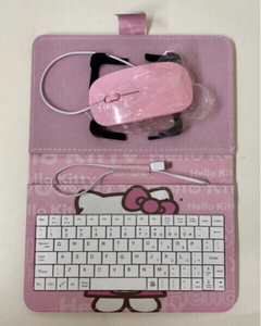 Used Hello Kitty Phone Keyboard + Mouse  in Dubai, UAE