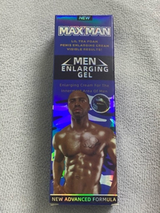 Used Maxman gel blue Best original  in Dubai, UAE