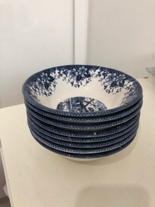 Used Soup plater 8 pieces  in Dubai, UAE