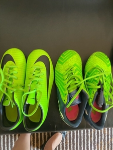 Used Kids futbol shoes bundle  in Dubai, UAE