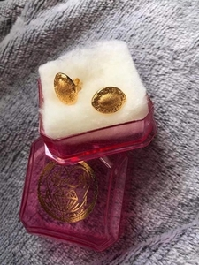 Used 21K Saudi Gold Earrings 1.3g in Dubai, UAE
