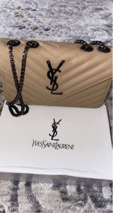 Used YSL khaki sling bag copy in Dubai, UAE