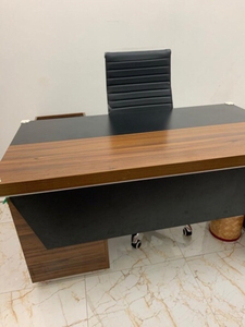 Used Big Office Table with Chair in Dubai, UAE