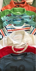 Used Bundle of T-shirt's BOY 1-3y only 1 DHS in Dubai, UAE