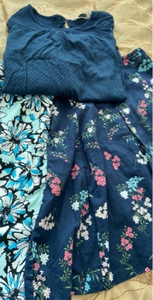 Used Skirts 2 and top size 14  in Dubai, UAE