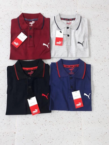 Used Polo w/collar puma large 4 pcs in Dubai, UAE