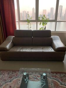 Used Dining table+ 6 chairs, 3 seater sofa in Dubai, UAE