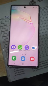 Used Samsung galaxy note 10 plus 5G single si in Dubai, UAE