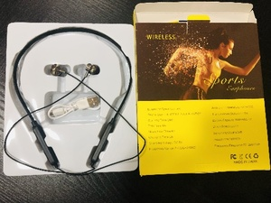 Used Stereo neckband sports headphones in Dubai, UAE