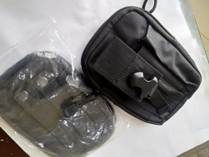 Used Sports belt bag black 2pcs in Dubai, UAE