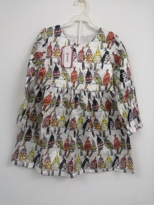 Used Patpat Casual Bird Pattern dress in Dubai, UAE