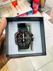 Used Sports watch with box water resistant in Dubai, UAE