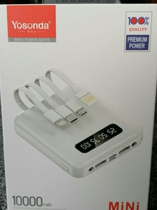 Used YOSONDA 100% A38 POWER BANK in Dubai, UAE